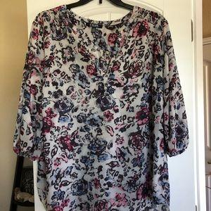 Plus size CHAPS blouse - size 2X